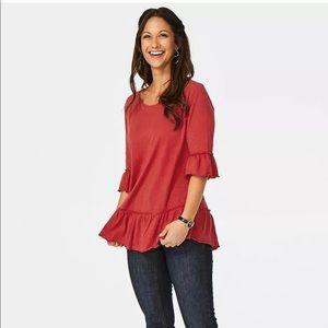 Matilda Jane Rule The Day Tee Shirt Size Womens L